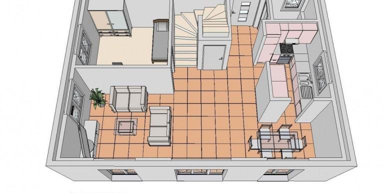 Birrhard EFH Grundriss EG 3D-Ansicht