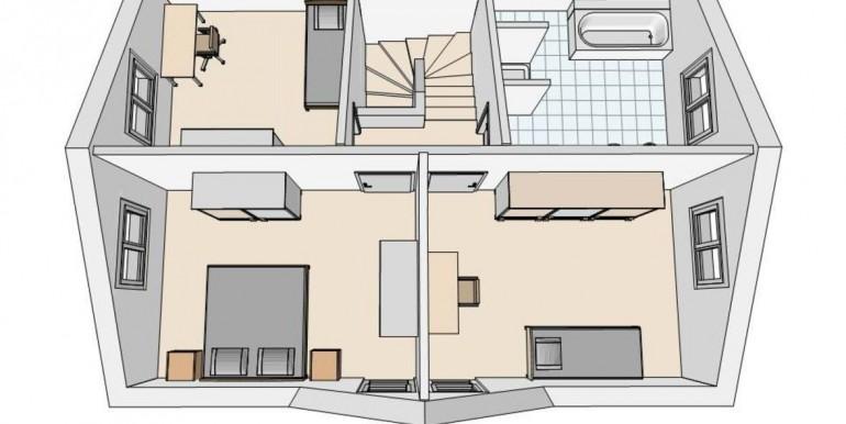 Birrhard EFH Grundriss OG 3D-Ansicht